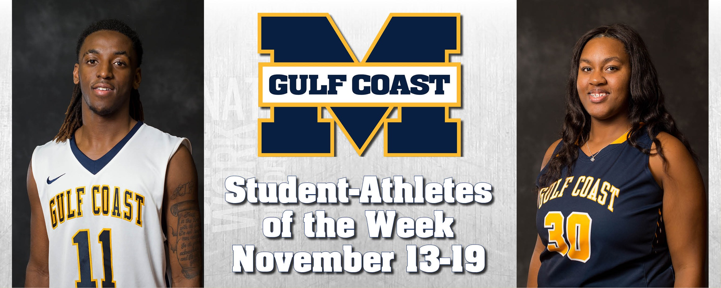 Spivery, Howard named MGCCC Student-Athletes of the Week