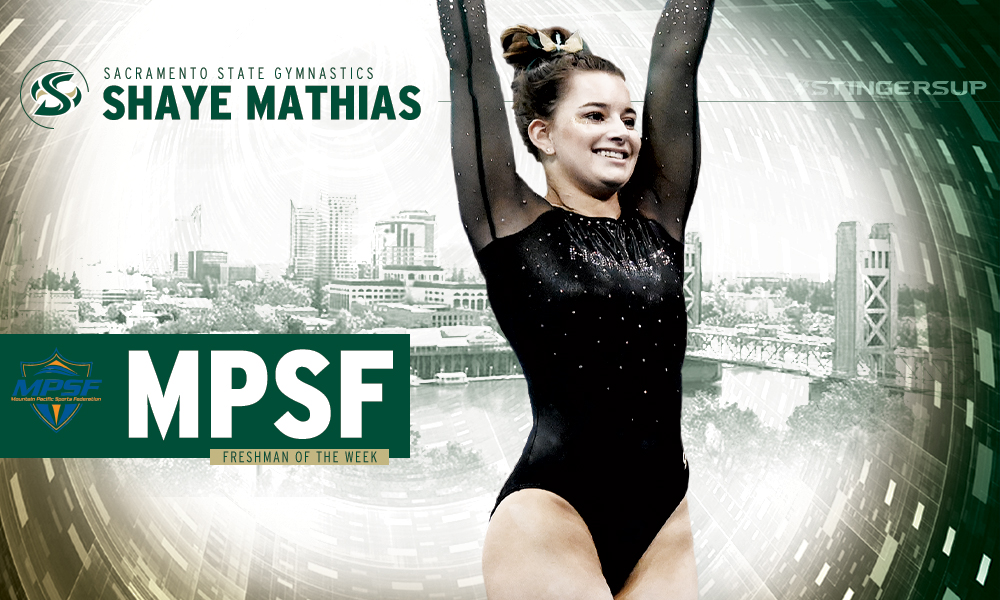 SHAYE MATHIAS NAMED MPSF FRESHMAN OF THE WEEK