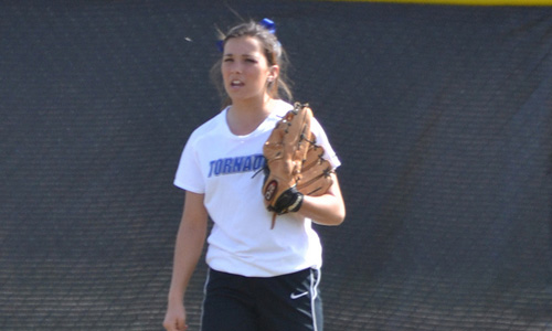 Brittany Fowler had four hits in the doubleheader
