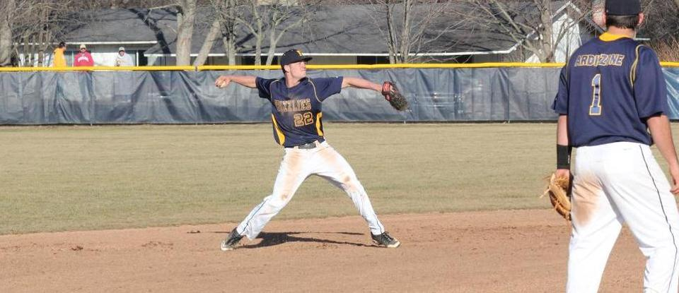 Frey, Brock Lead Baseball to Doubleheader Split with Manchester