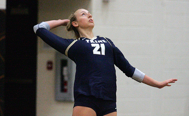Women's Volleyball Split on Day Two