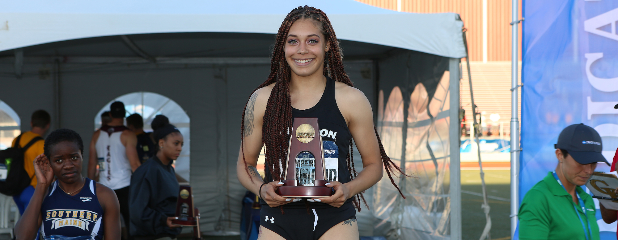 Kimberly Hammond Earns All-America Status in Long Jump, Places Seventh