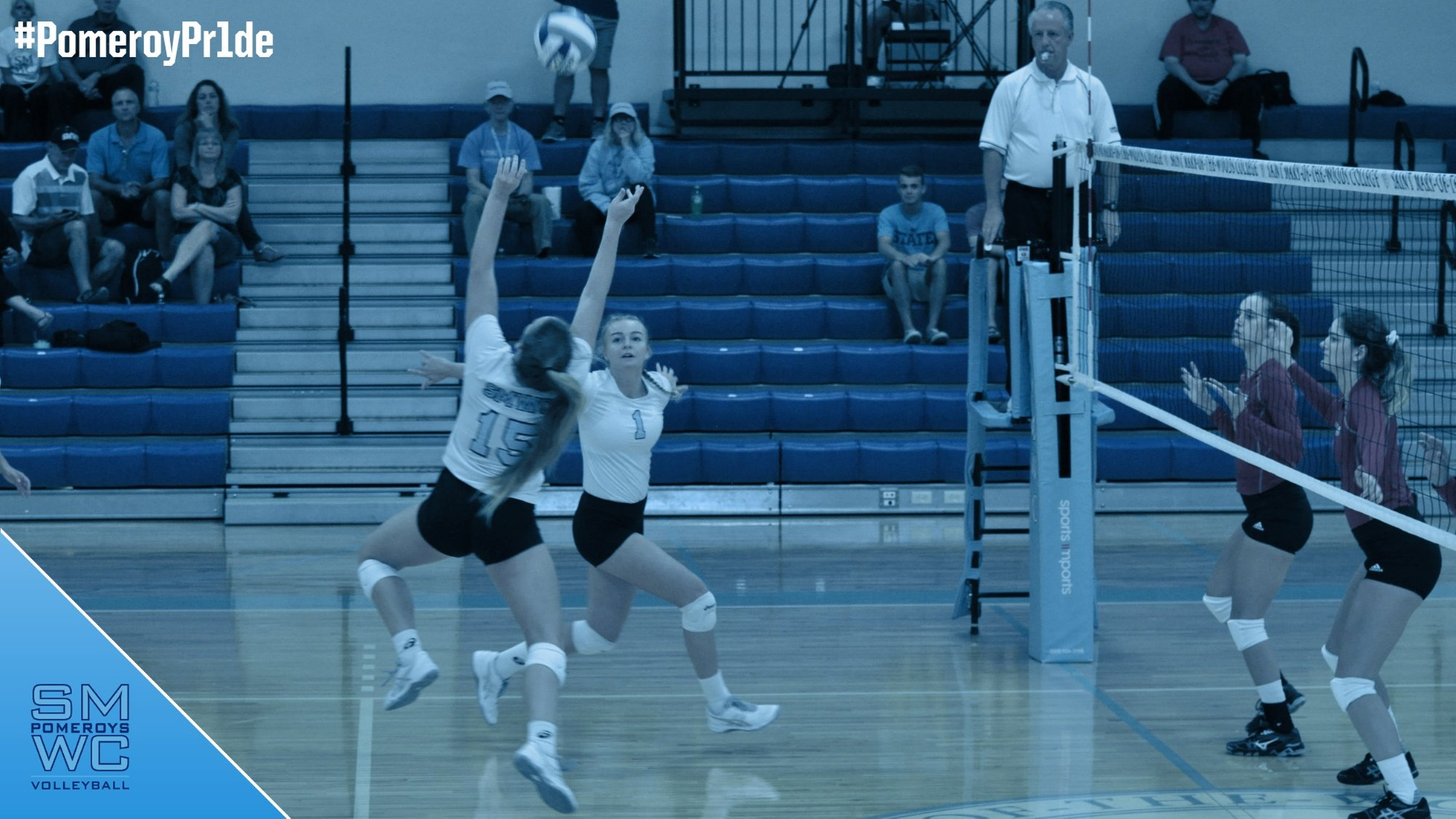 SMWC Falls Short in Five-Set Match