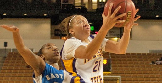 Darling, Hayes lead Golden Eagles over Eastern Illinois, 65-58