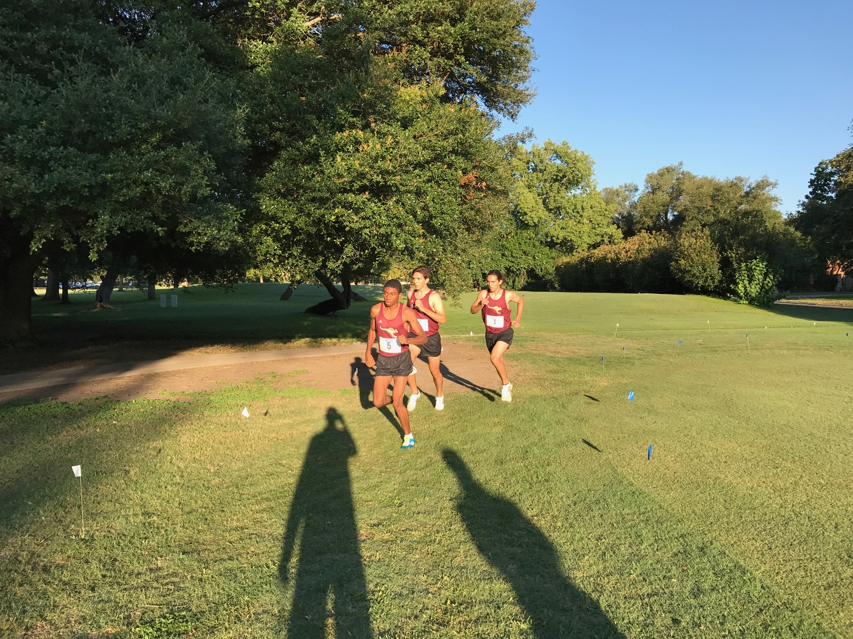 PR's Fall for Men's XC At OLLU Invite