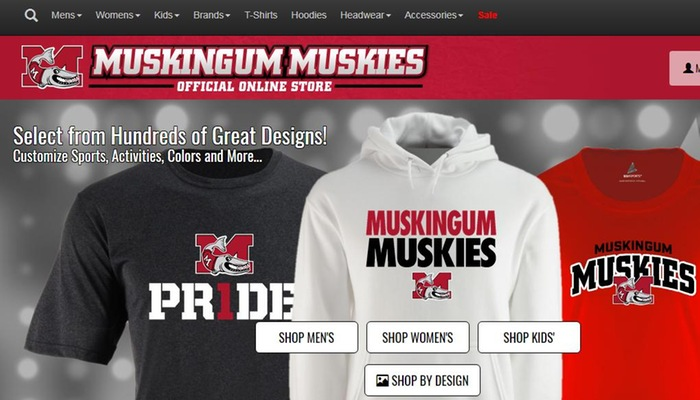 Muskingum Athletics launches official online store