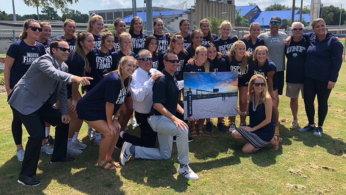 """The Coop"" - UNF Beach Volleyball Gets a Home on Campus"