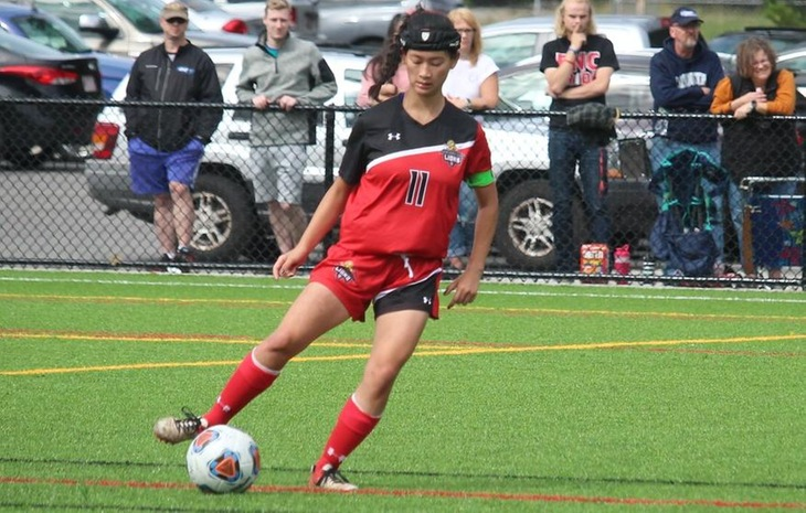 Women's Soccer Earns 3-2 Come-From-Behind Victory at Becker