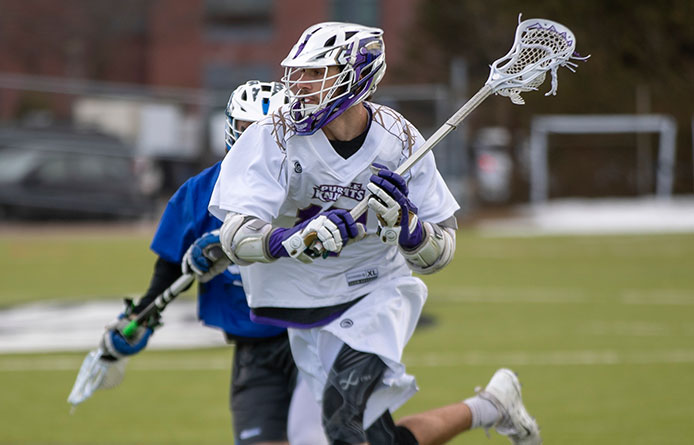 Men's Lacrosse Suffers Road Defeat at Nationally-Regarded Bentley