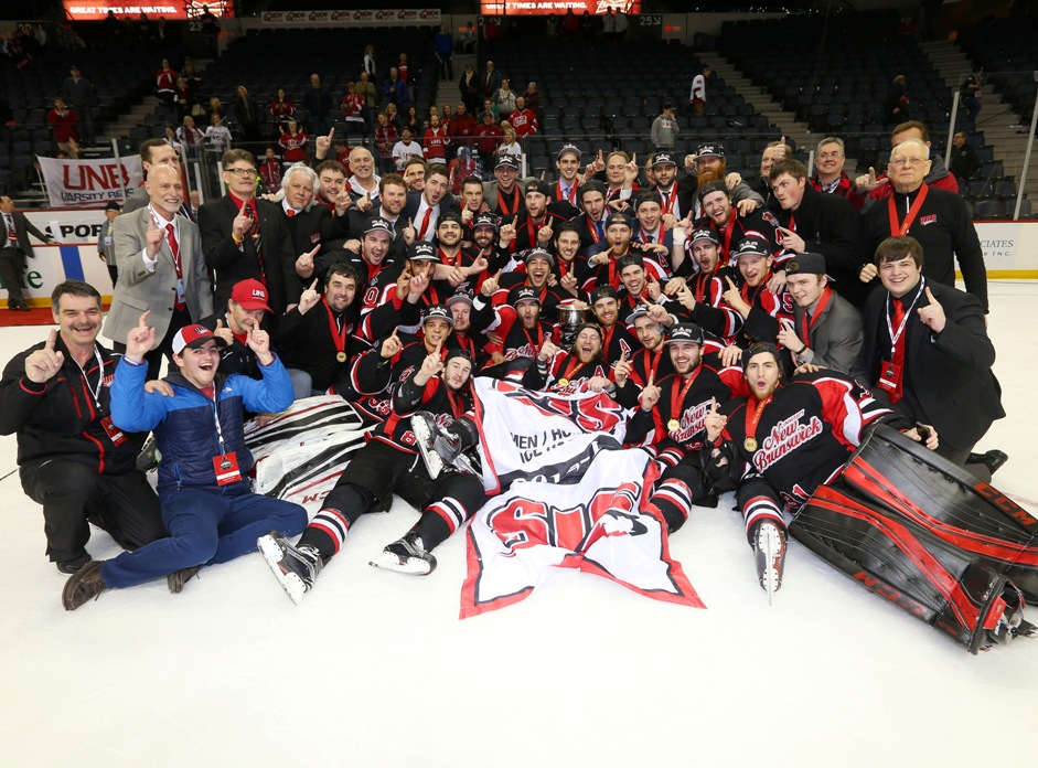 FINAL CIS University Cup men's hockey: UNB skates to CIS gold medal win