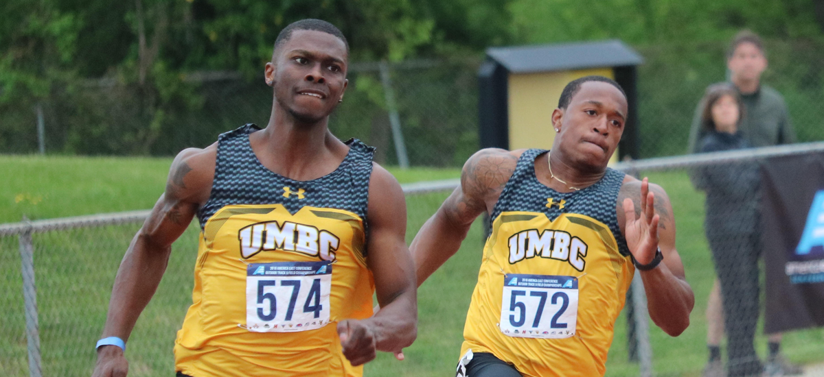 Knake Breaks Conference Record; Nelson wins 100m and 200m at America East Championships