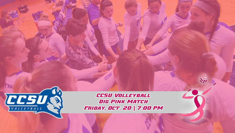 "Volleyball Hosts ""Dig Pink"" Match Friday Night"