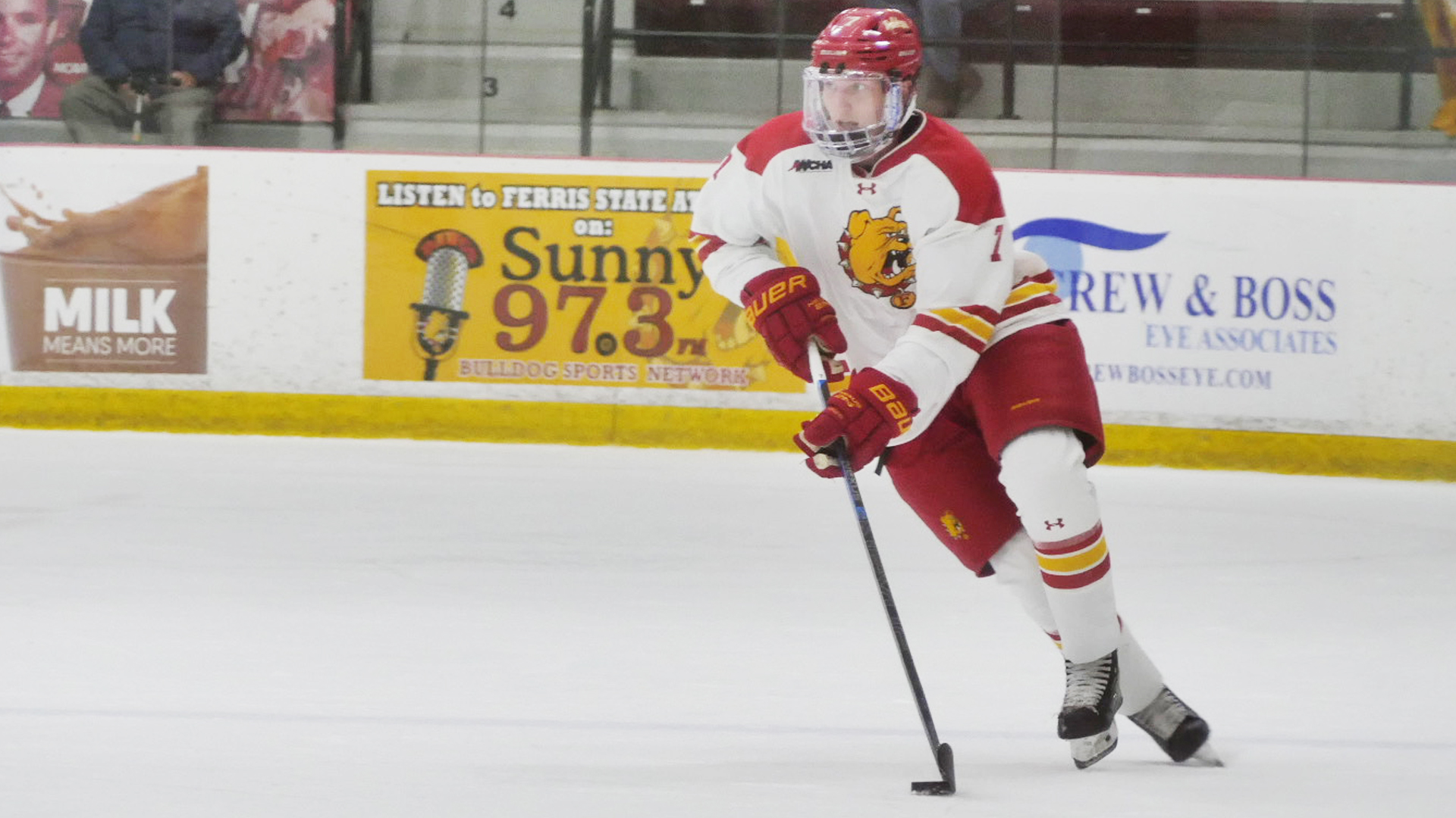 Ferris State Skates To Tie In Exhibition Play Against Waterloo