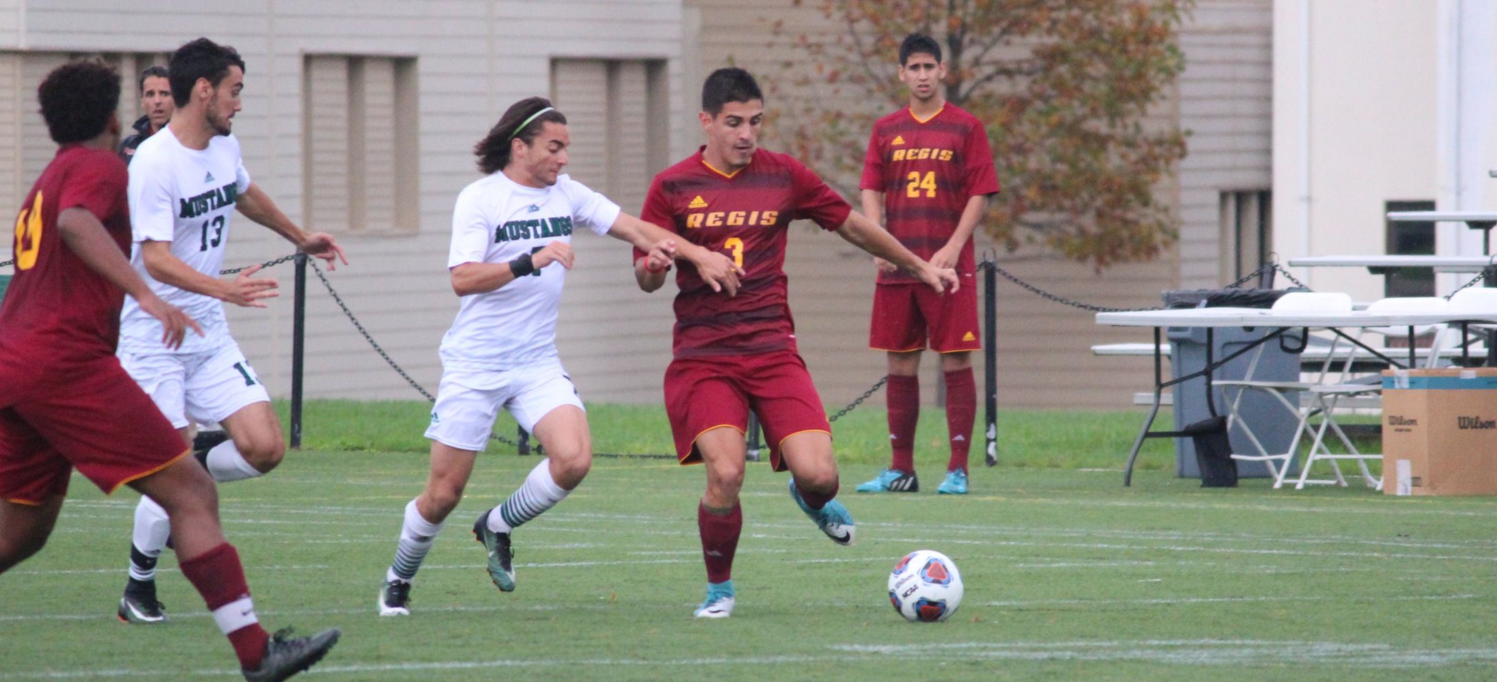 Men's Soccer Faces Tall Order at Saint Joseph's In GNAC Semifinal