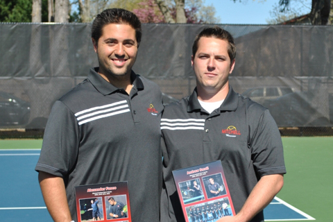 Men's Tennis Bounces Back Against Newbury on Senior Day