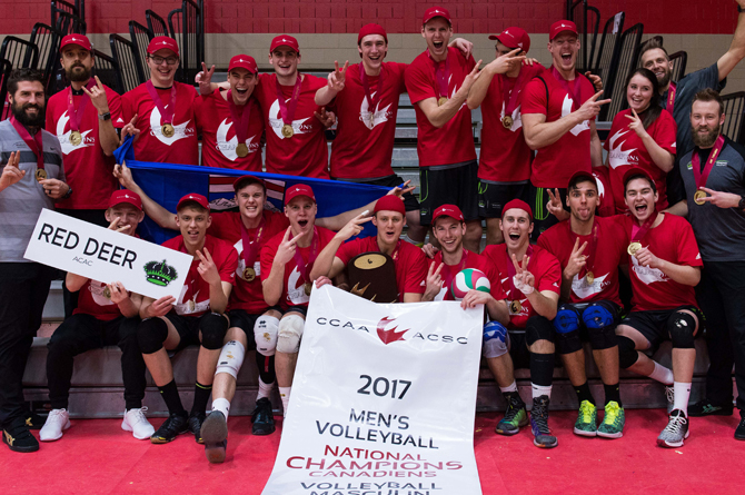 Kings defend CCAA crown in Men's Volleyball