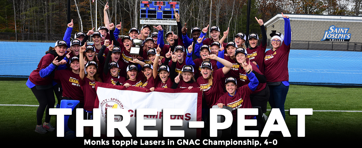 Monks Win Third-Consecutive GNAC Championship!!