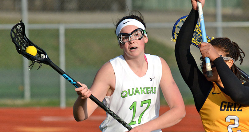 Blaine's four goals not enough for @DubC_WLax in loss to Thomas More