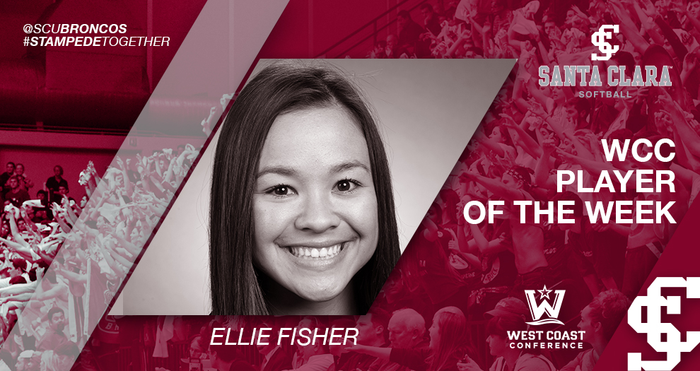 Fisher Named WCC Player of the Week