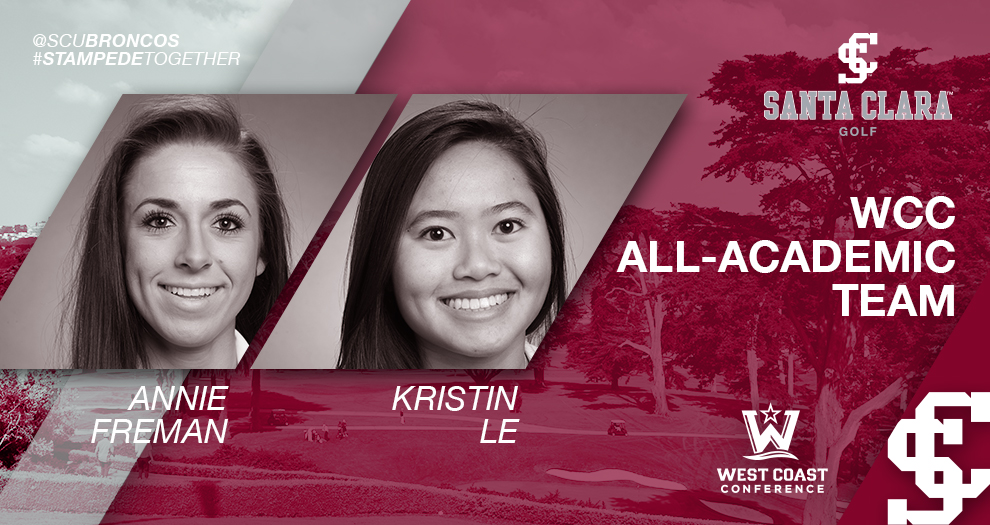 Two Women's Golfers Placed on WCC All-Academic Team