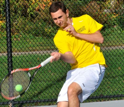 Ribeiro Named Northeast-10 Men's Tennis Player of the Week