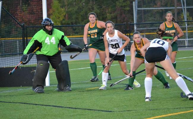 Eagles Top Wolves in Field Hockey