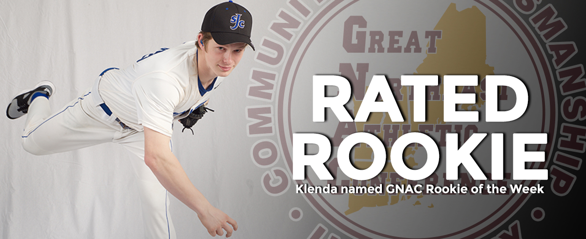 Klenda Named GNAC Rookie of the Week