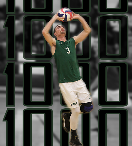 Fitzpatrick Joins 1,000 Assists Club on Last Day of Elmira Invitational