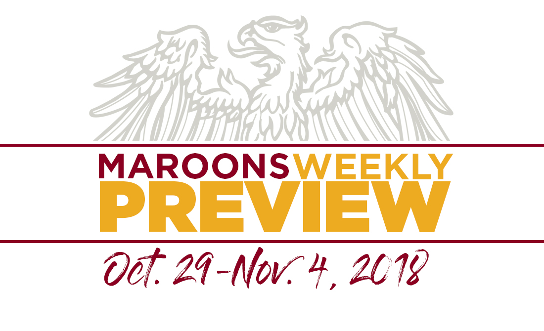 UChicago Athletics Preview: October 29 - November 4