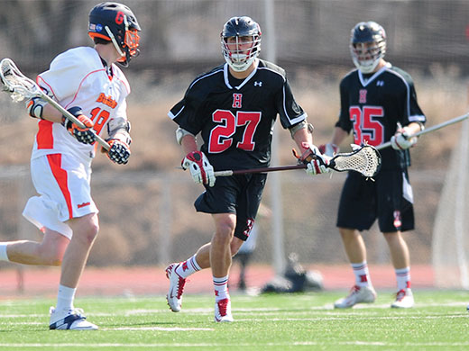 Christensen leads with 4 goals in loss to Eastern