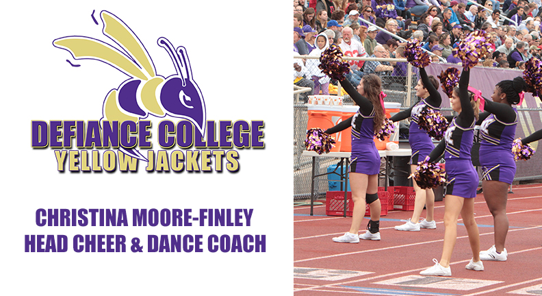 Defiance Names Moore-Finley Head Cheer and Dance Coach