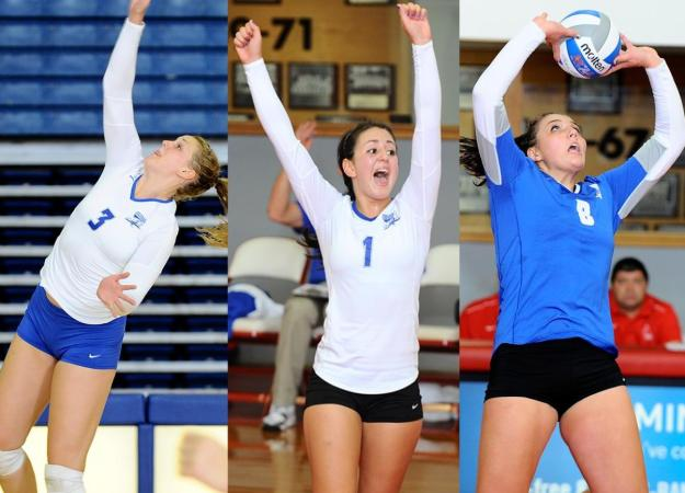 Trio Earns Molten/NEC Weekly Honors