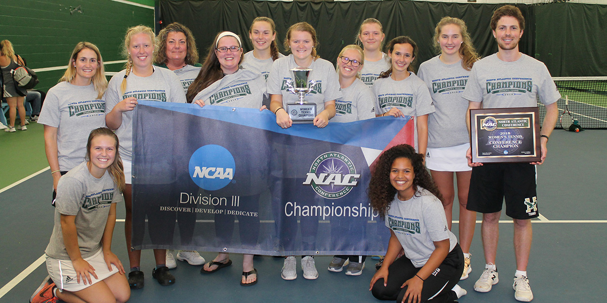 Eagles Capture First NAC Women's Tennis Title in Program History