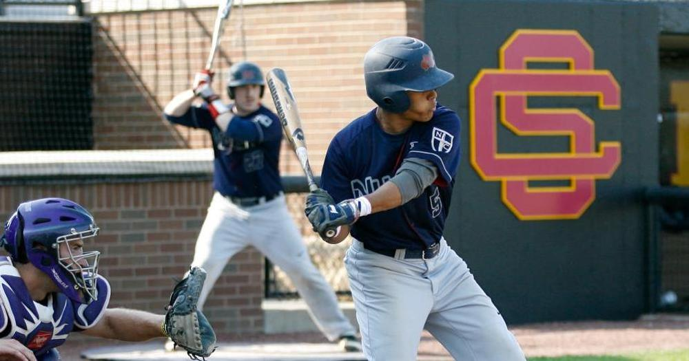 Baseball Battles to CACC Split with Caldwell 6-9, 6-3