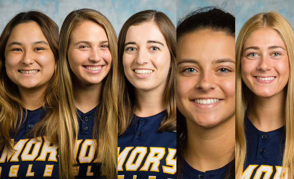 Emory Softball Places Five On All-UAA Team -- Baca & Feller Named Co-Position Players Of The Year