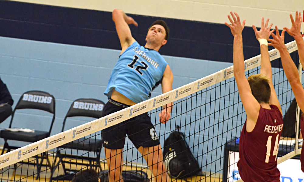 Men's volleyball stumbles in home opener loss to Redeemer