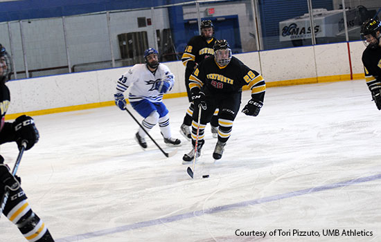 Hockey Holds on For 3-2 Win Over Becker