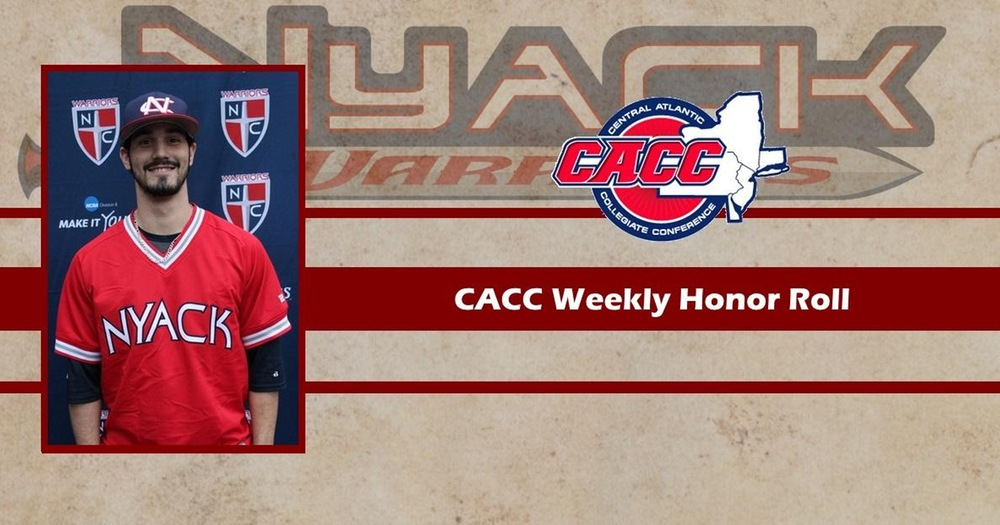 Jack Kelley Named to Weekly CACC Honor Roll