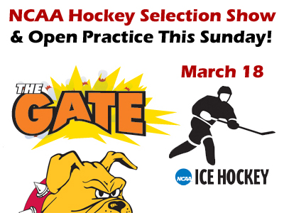 NCAA Selection Show Party Sunday At The Gate