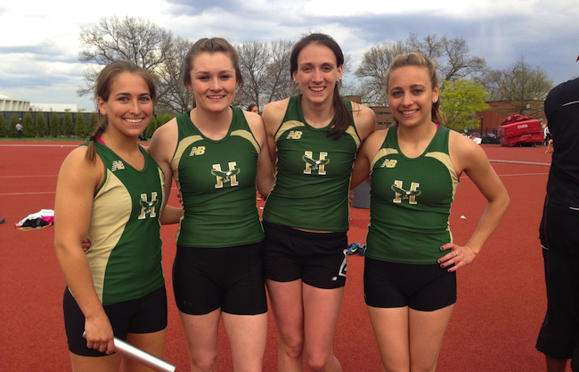 Hoople, Husson Outdoor Track & Field See Records Fall at New England Division III Championships