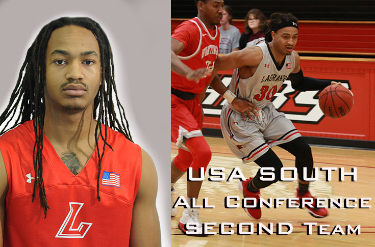 Men's Basketball: Alex Bonner named to USA South All-Conference second team
