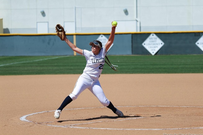File Photo: Sierra Gerdts tossed a complete game win for the Falcons