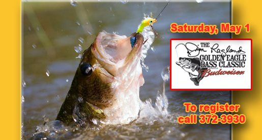 24th annual Jim Ragland Bass Classic scheduled for May 1