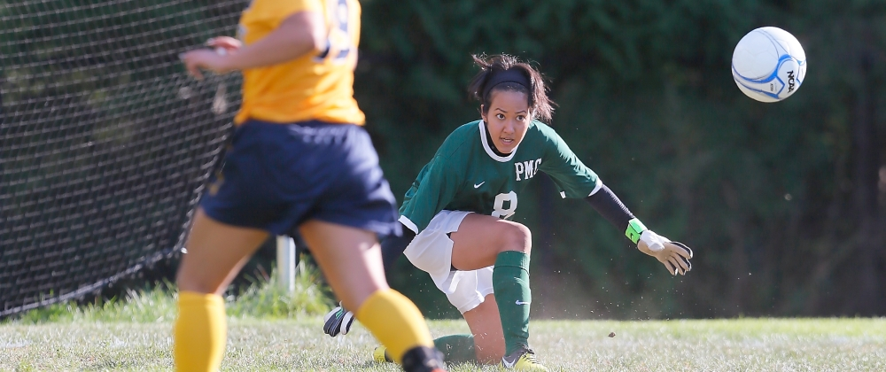Wheelock Runs Past Women's Soccer