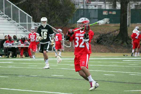 Huntingdon men's lacrosse falls to Rhodes in season opener