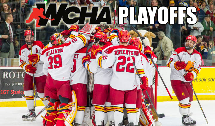 WCHA Regular-Season Champion Ferris State To Host Bemidji State In WCHA First Round