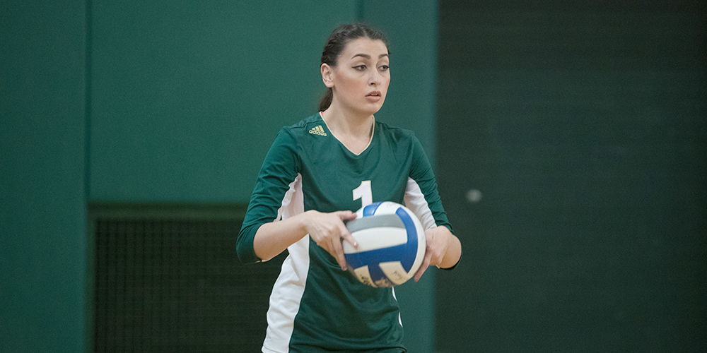 Women's Volleyball Drops Final Regular Season Game to Bates