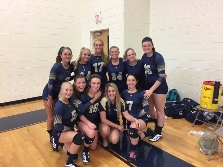 Volleyball Presents Geary With First Career Victory By Sweeping Johnson State