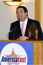 Phil Stern was named 2011 America East Coach of the Year