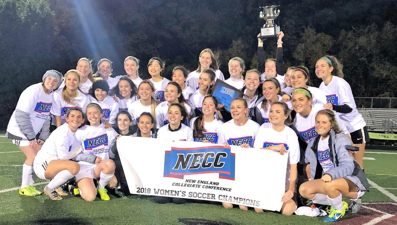 Lynx Earn Back-to-Back NECC Women's Soccer Titles With 3-2 Win Over NEC
